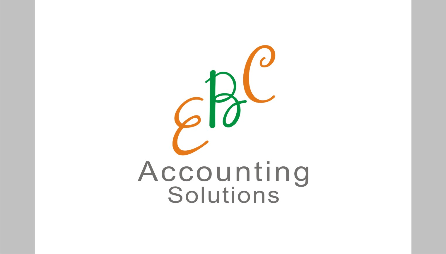 Logo Design by Shailender Kumar - Entry No. 140 in the Logo Design Contest New Logo Design for EBC Accounting Solutions.