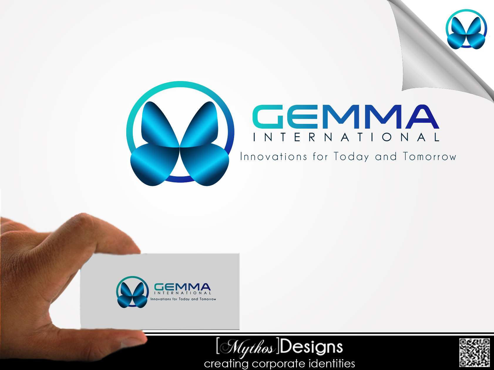 Logo Design by Mythos Designs - Entry No. 131 in the Logo Design Contest Artistic Logo Design for Gemma International.
