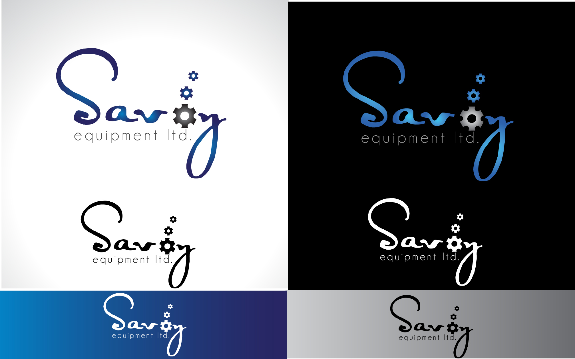Logo Design by Darina Dimitrova - Entry No. 25 in the Logo Design Contest Inspiring Logo Design for Savoy Equipment Ltd..