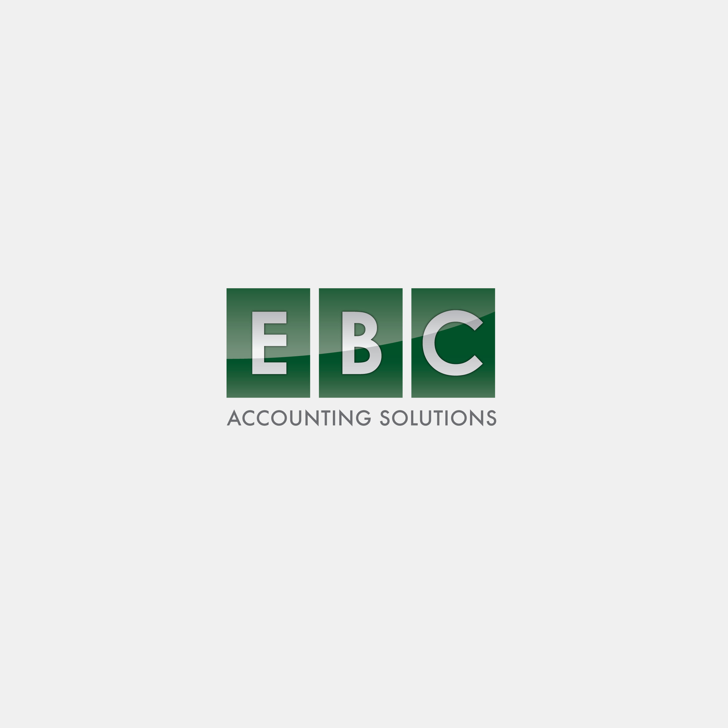Logo Design by tanganpanas - Entry No. 143 in the Logo Design Contest New Logo Design for EBC Accounting Solutions.