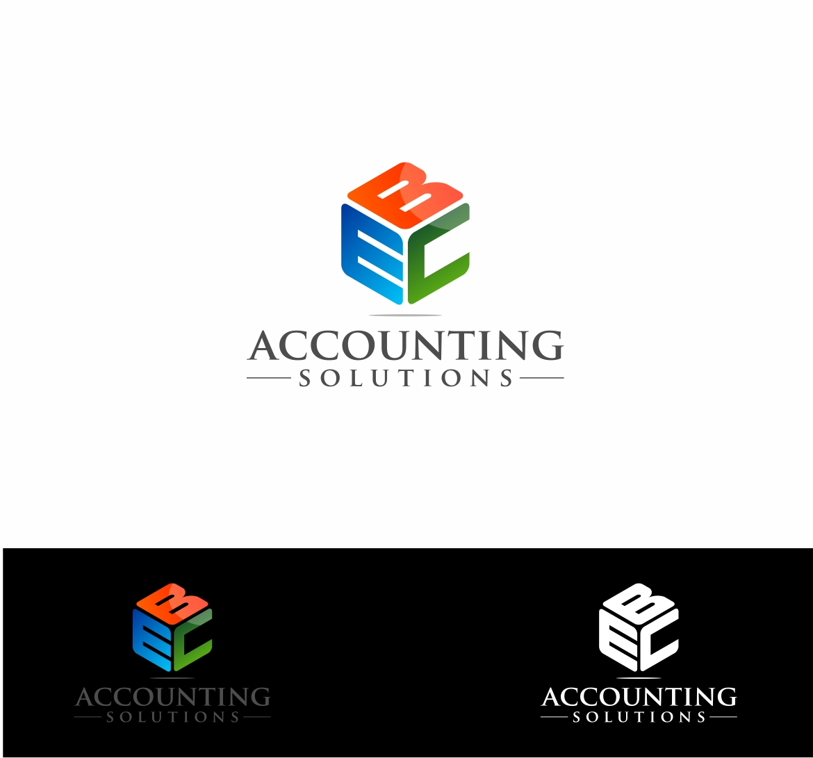 Logo Design by haidu - Entry No. 145 in the Logo Design Contest New Logo Design for EBC Accounting Solutions.