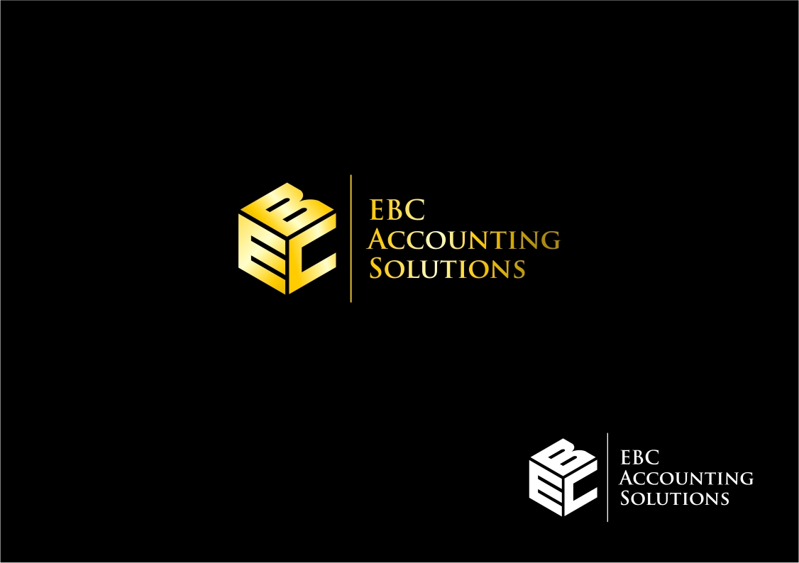Logo Design by haidu - Entry No. 152 in the Logo Design Contest New Logo Design for EBC Accounting Solutions.