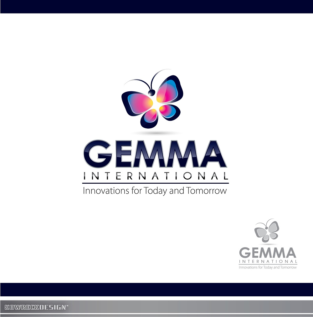 Logo Design by kowreck - Entry No. 139 in the Logo Design Contest Artistic Logo Design for Gemma International.