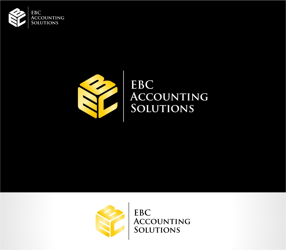 Logo Design by haidu - Entry No. 155 in the Logo Design Contest New Logo Design for EBC Accounting Solutions.
