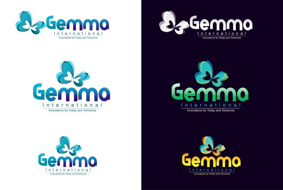 Logo Design by Private User - Entry No. 140 in the Logo Design Contest Artistic Logo Design for Gemma International.