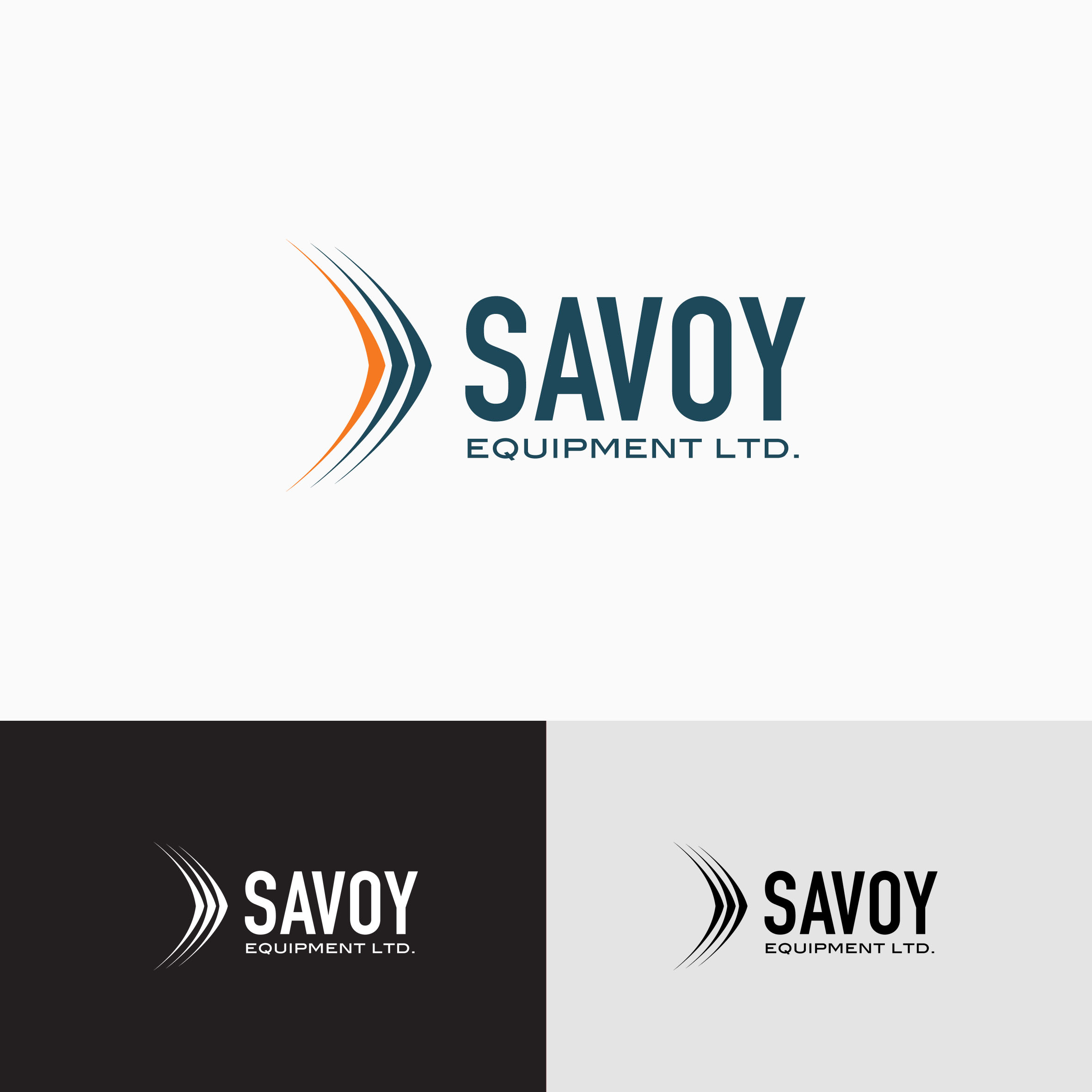 Logo Design by tanganpanas - Entry No. 27 in the Logo Design Contest Inspiring Logo Design for Savoy Equipment Ltd..