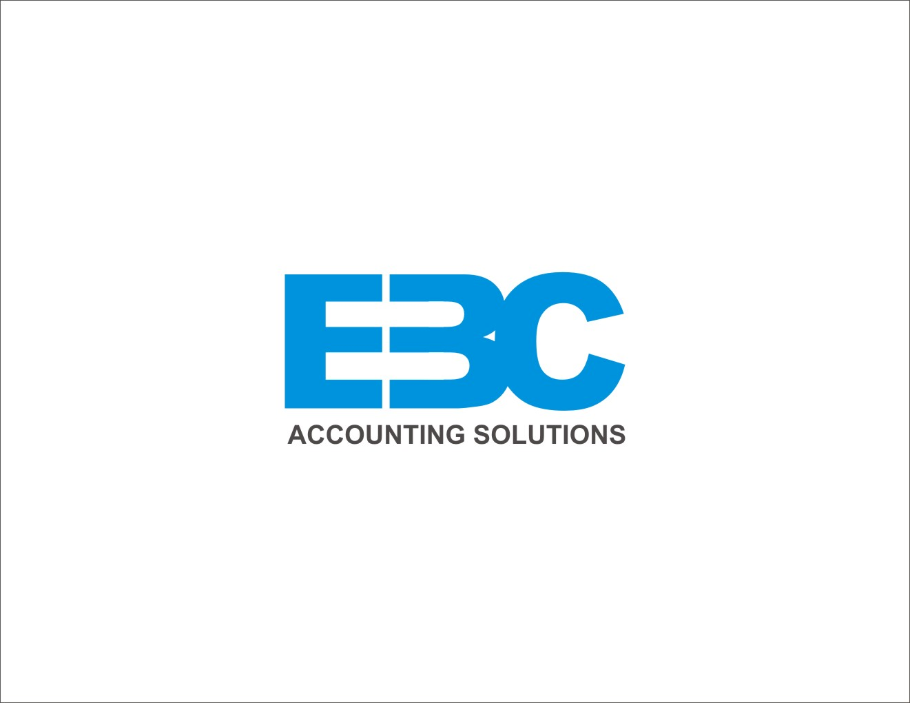 Logo Design by Private User - Entry No. 157 in the Logo Design Contest New Logo Design for EBC Accounting Solutions.