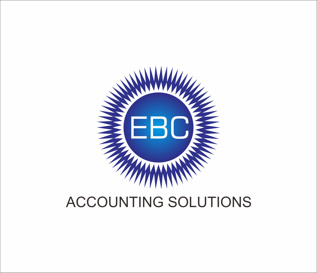 Logo Design by Armada Jamaluddin - Entry No. 164 in the Logo Design Contest New Logo Design for EBC Accounting Solutions.