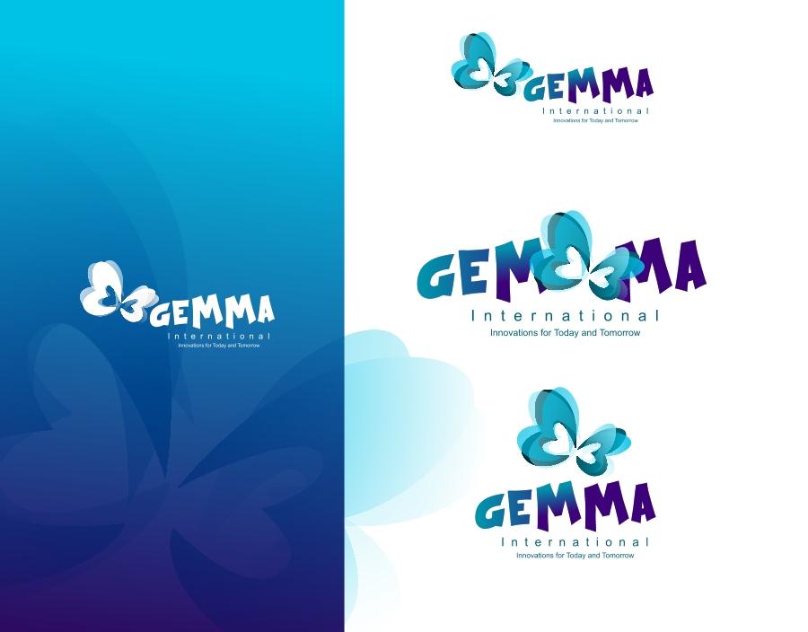 Logo Design by Private User - Entry No. 145 in the Logo Design Contest Artistic Logo Design for Gemma International.