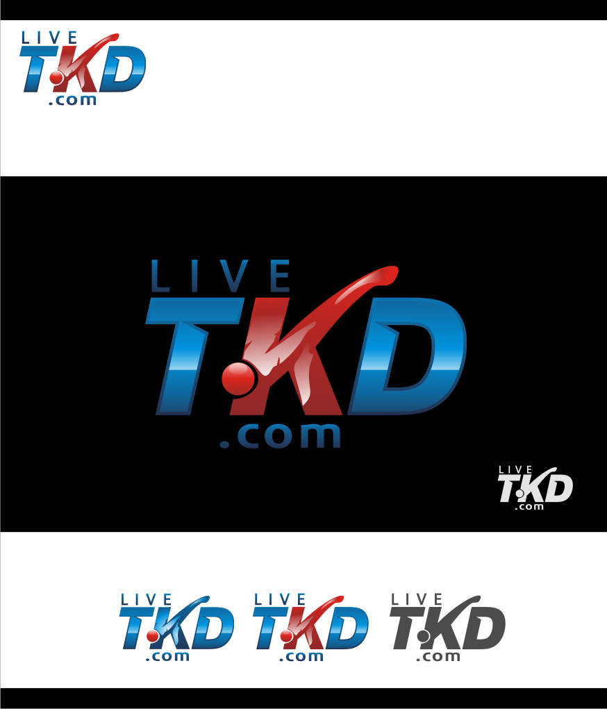 Logo Design by Muhammad Nasrul chasib - Entry No. 125 in the Logo Design Contest New Logo Design for LiveTKD.com.