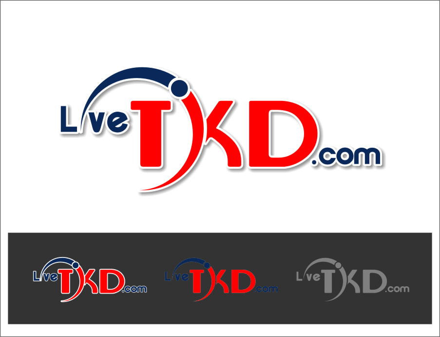 Logo Design by RasYa Muhammad Athaya - Entry No. 126 in the Logo Design Contest New Logo Design for LiveTKD.com.