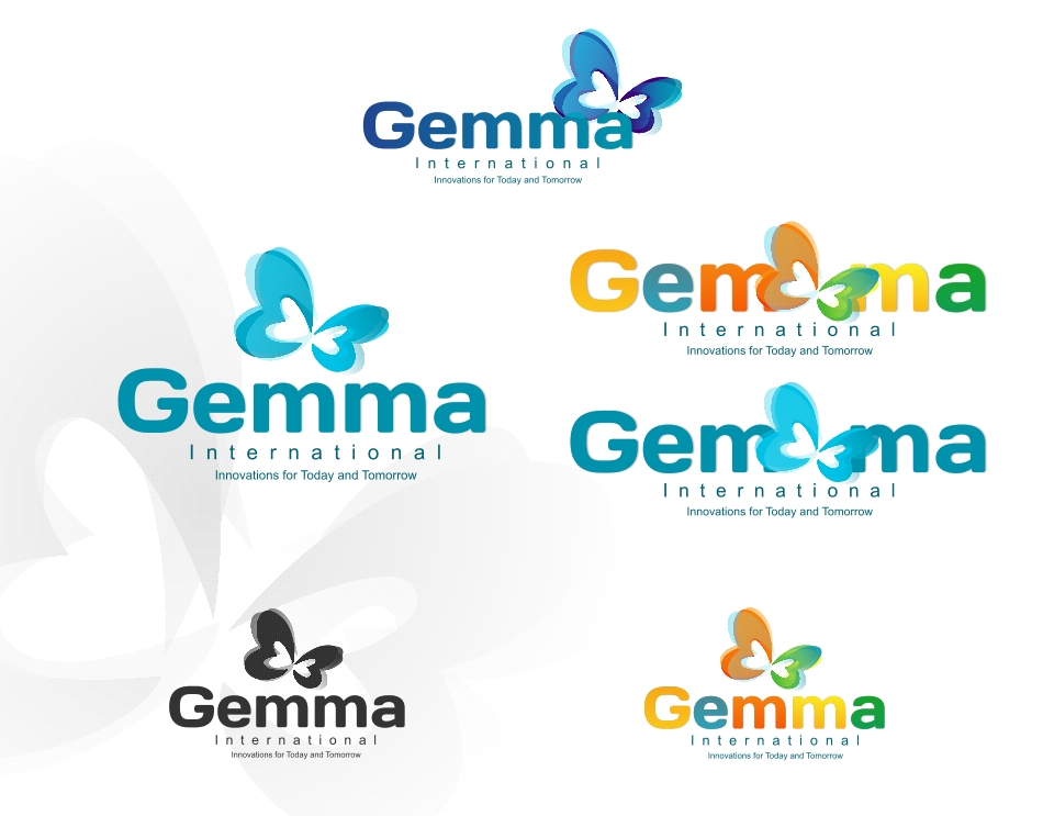 Logo Design by Private User - Entry No. 146 in the Logo Design Contest Artistic Logo Design for Gemma International.