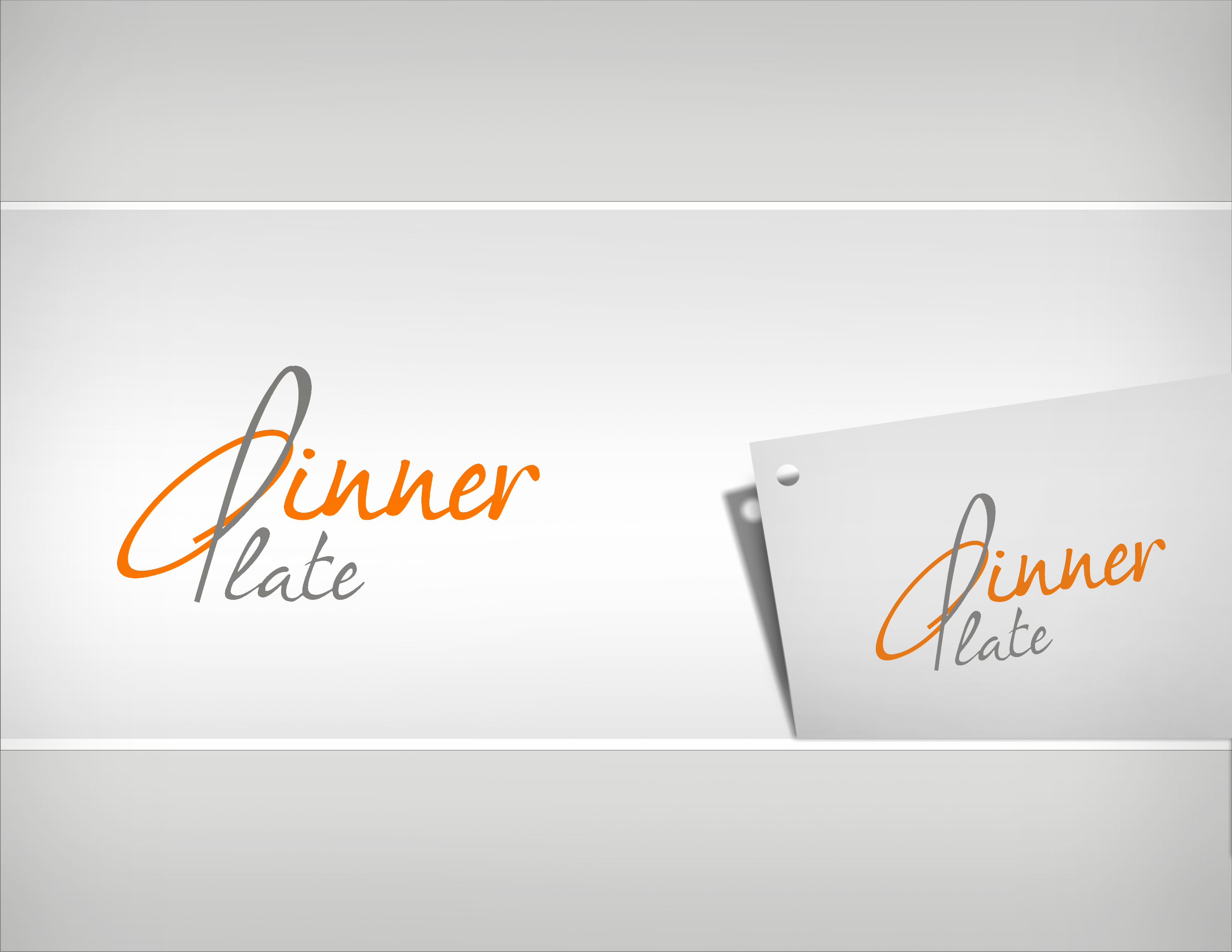Logo Design by Sandip Kumar - Entry No. 100 in the Logo Design Contest Imaginative Logo Design for Dinner Plate.