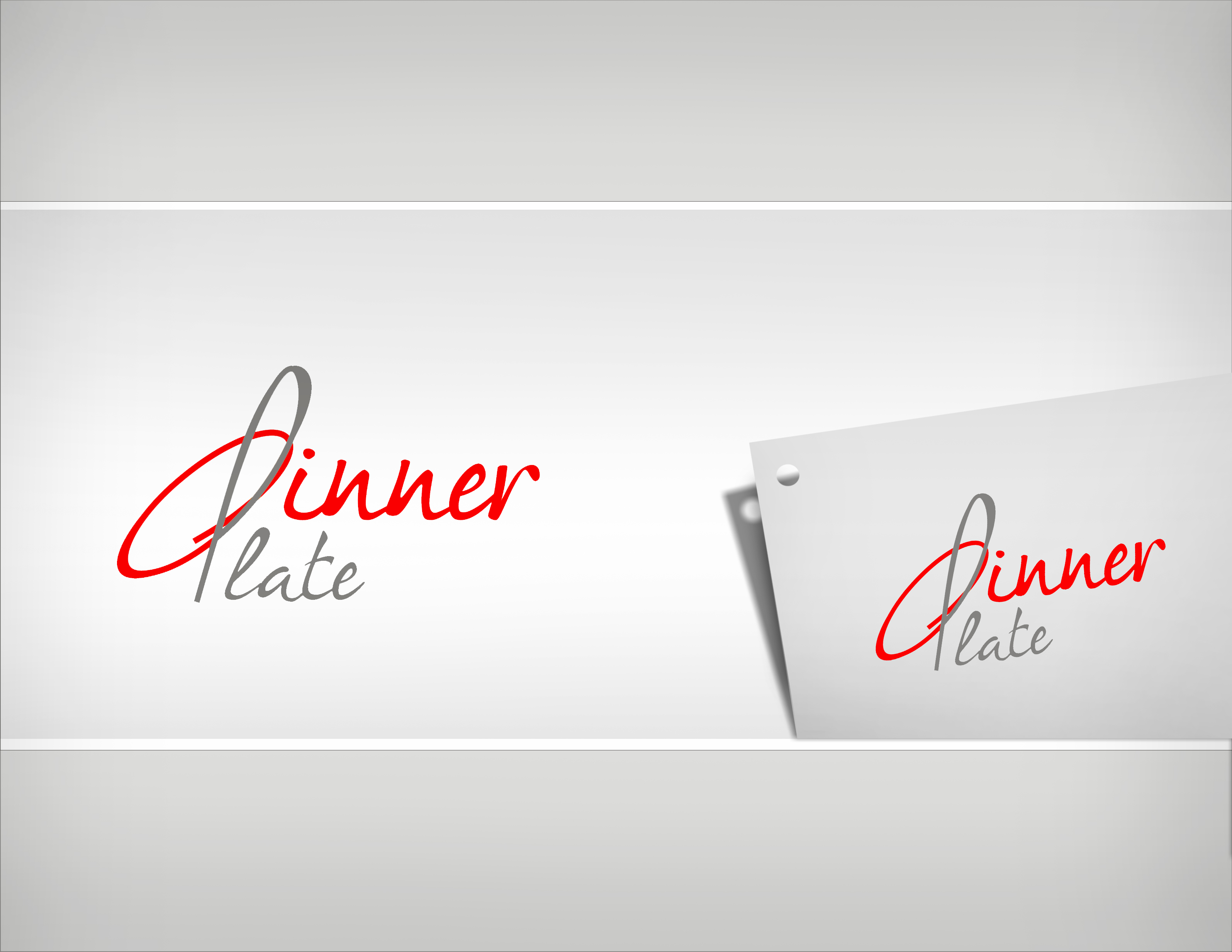 Logo Design by Sandip Kumar - Entry No. 101 in the Logo Design Contest Imaginative Logo Design for Dinner Plate.