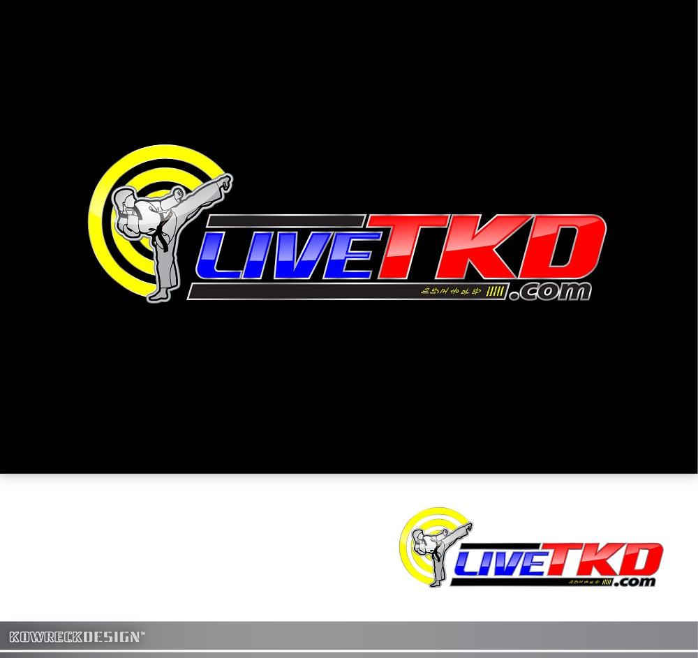 Logo Design by kowreck - Entry No. 128 in the Logo Design Contest New Logo Design for LiveTKD.com.