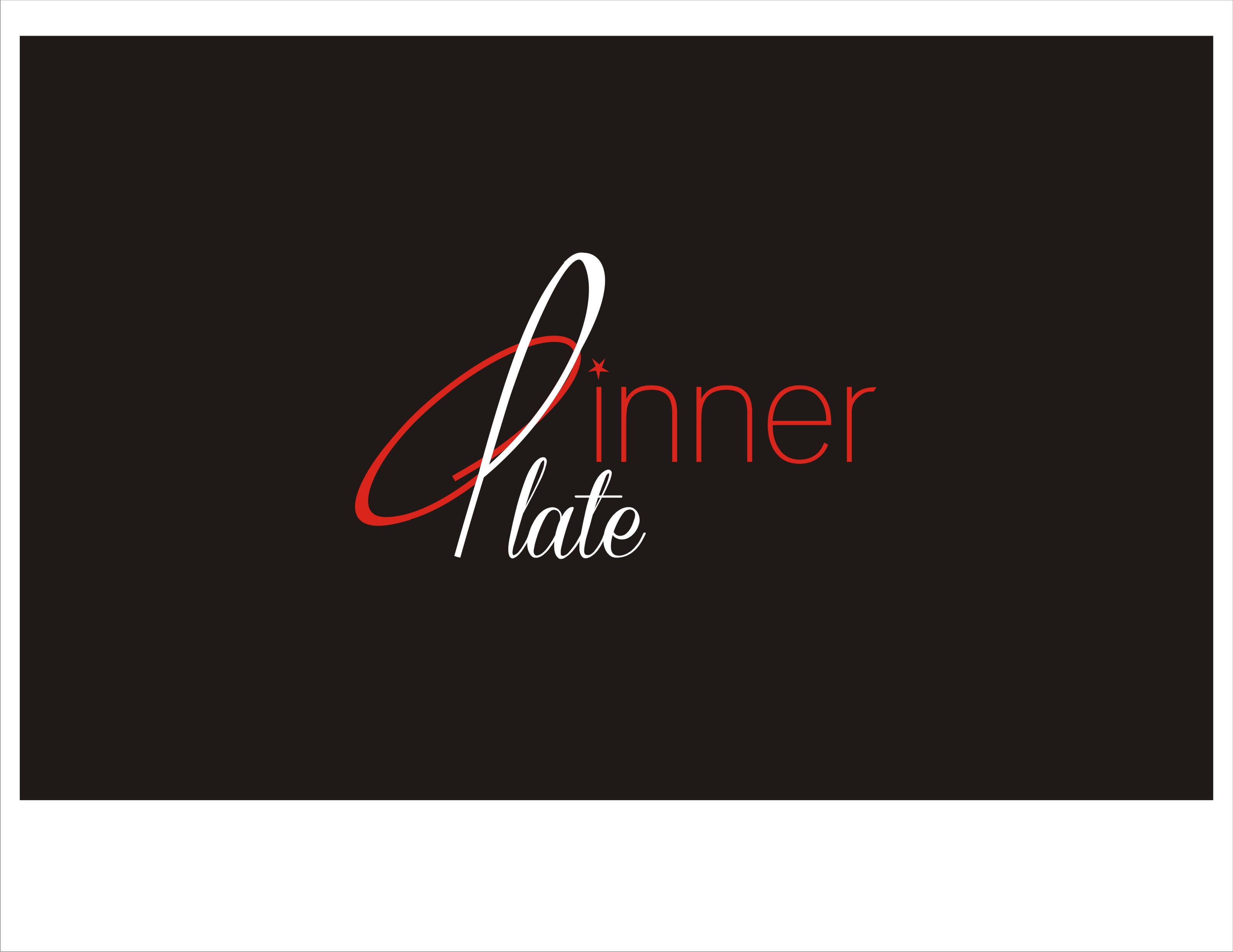 Logo Design by Sandip Kumar - Entry No. 104 in the Logo Design Contest Imaginative Logo Design for Dinner Plate.