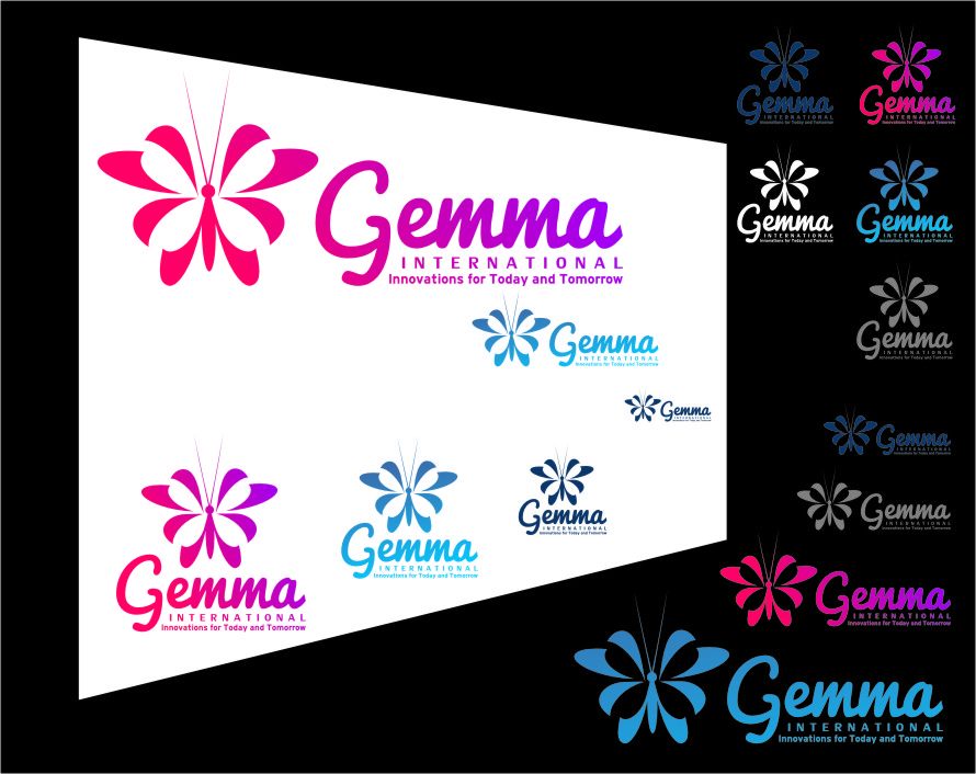 Logo Design by RasYa Muhammad Athaya - Entry No. 150 in the Logo Design Contest Artistic Logo Design for Gemma International.
