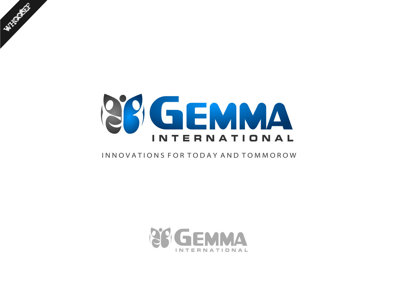 Logo Design by whoosef - Entry No. 154 in the Logo Design Contest Artistic Logo Design for Gemma International.