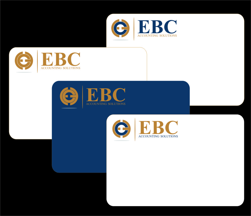 Logo Design by Ngepet_art - Entry No. 177 in the Logo Design Contest New Logo Design for EBC Accounting Solutions.