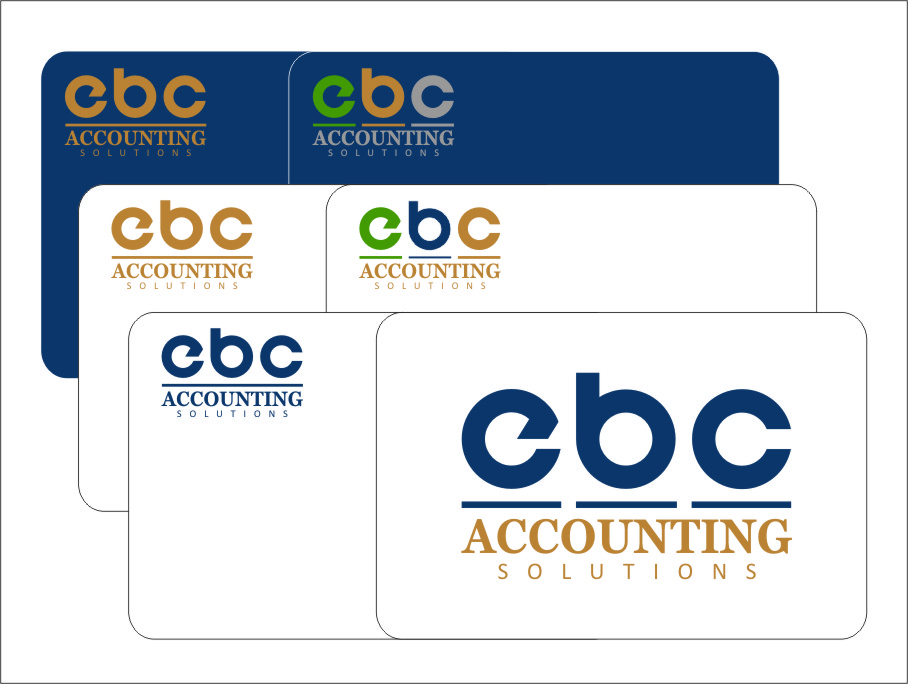 Logo Design by Ngepet_art - Entry No. 187 in the Logo Design Contest New Logo Design for EBC Accounting Solutions.