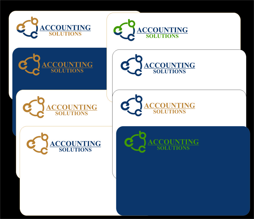 Logo Design by RoSyid Rono-Rene On Java - Entry No. 191 in the Logo Design Contest New Logo Design for EBC Accounting Solutions.