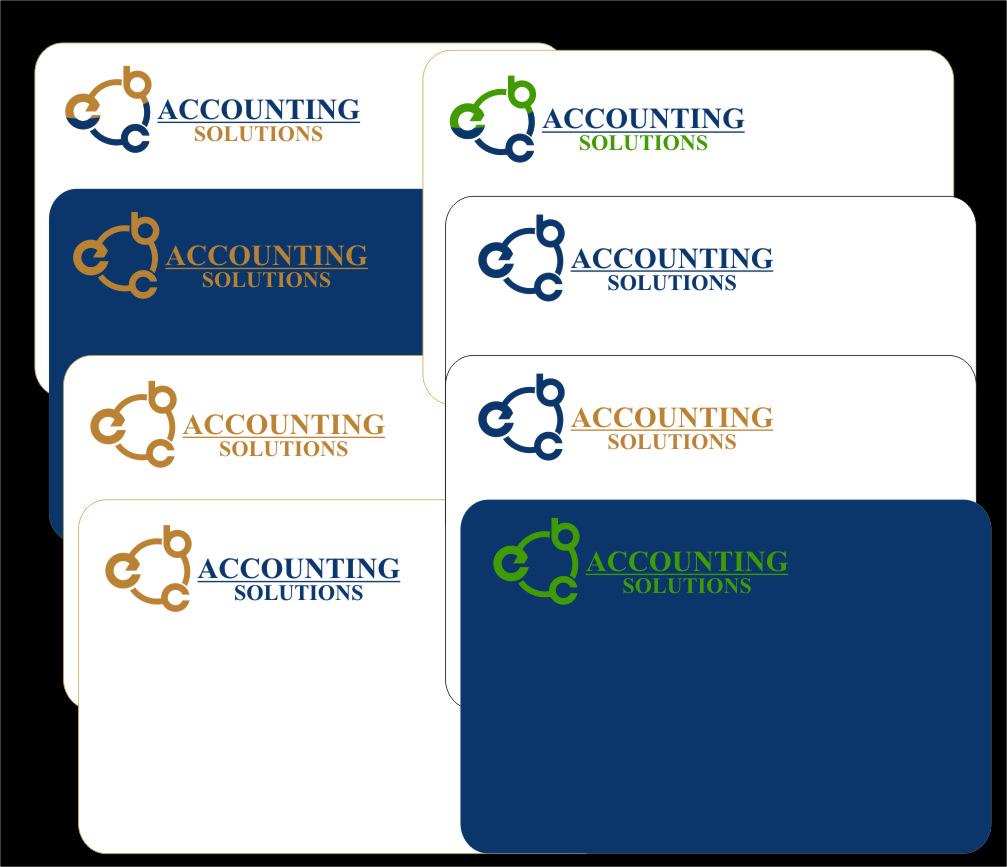 Logo Design by RasYa Muhammad Athaya - Entry No. 191 in the Logo Design Contest New Logo Design for EBC Accounting Solutions.