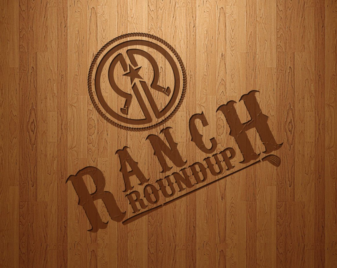 Logo Design by lagalag - Entry No. 22 in the Logo Design Contest Captivating Logo Design for Ranch Roundup.