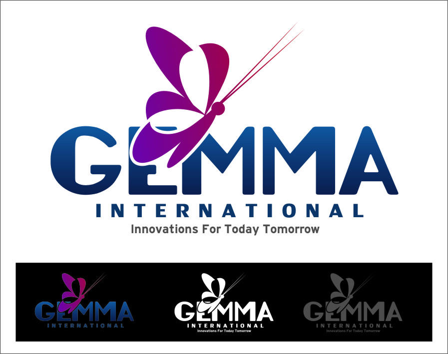Logo Design by Ngepet_art - Entry No. 157 in the Logo Design Contest Artistic Logo Design for Gemma International.