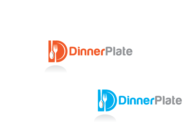 Logo Design by Private User - Entry No. 105 in the Logo Design Contest Imaginative Logo Design for Dinner Plate.