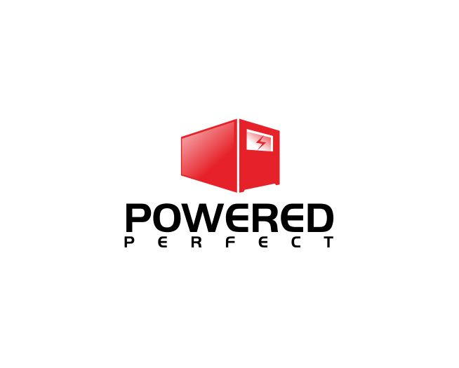 Logo Design by ronny - Entry No. 14 in the Logo Design Contest Captivating Logo Design for Powered Perfect.