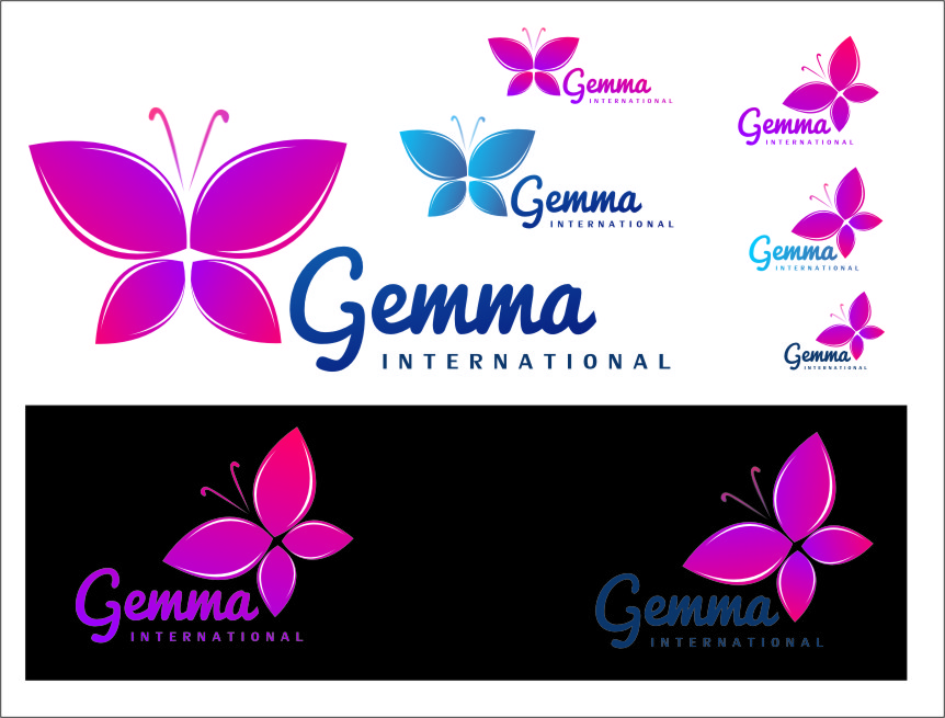 Logo Design by RoSyid Rono-Rene On Java - Entry No. 164 in the Logo Design Contest Artistic Logo Design for Gemma International.