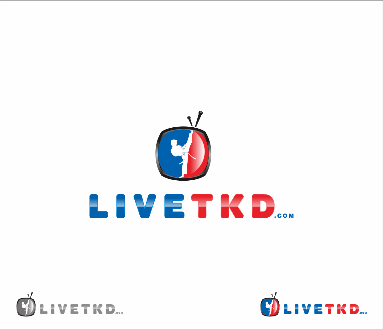 Logo Design by Armada Jamaluddin - Entry No. 135 in the Logo Design Contest New Logo Design for LiveTKD.com.