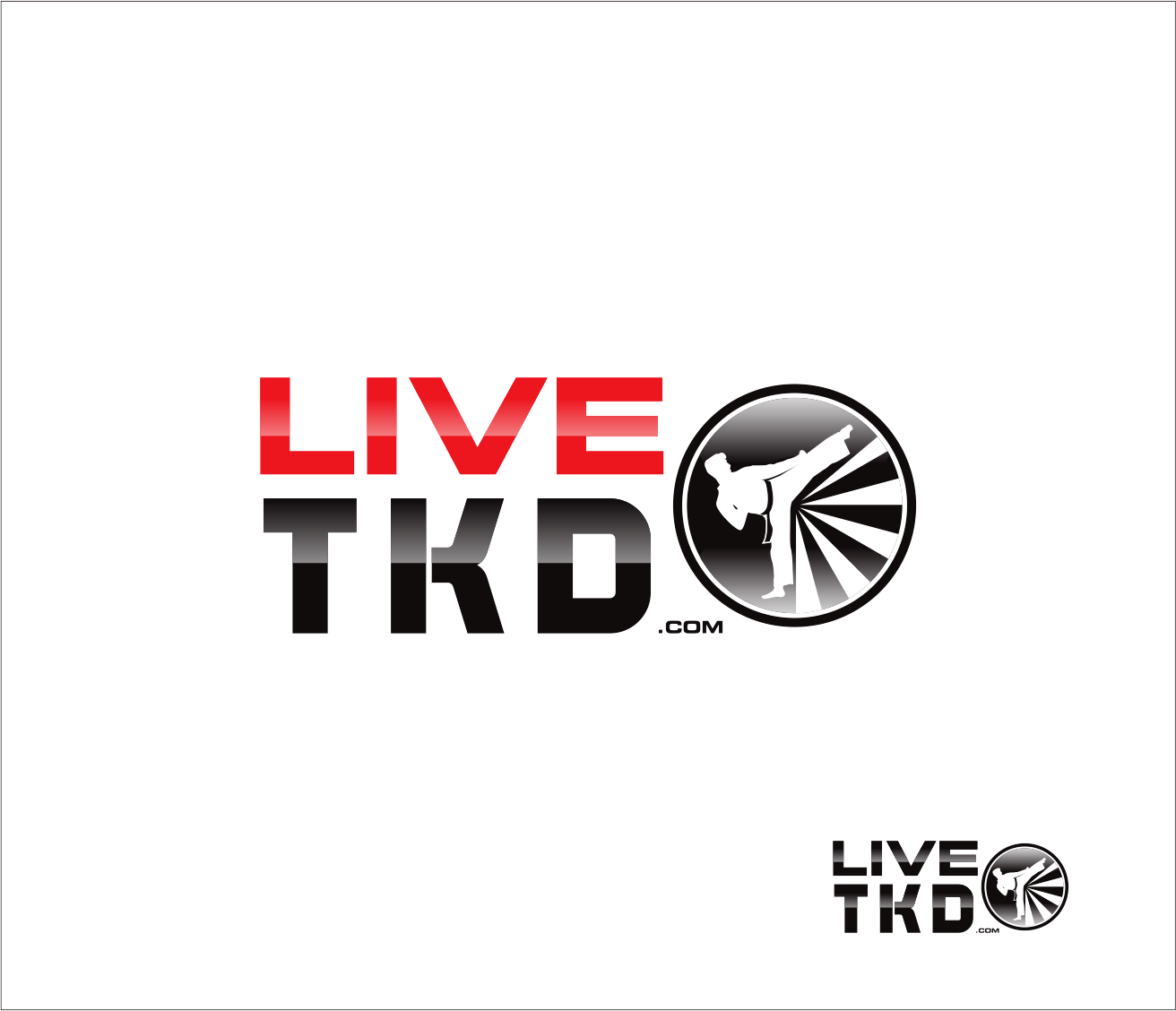 Logo Design by Armada Jamaluddin - Entry No. 139 in the Logo Design Contest New Logo Design for LiveTKD.com.