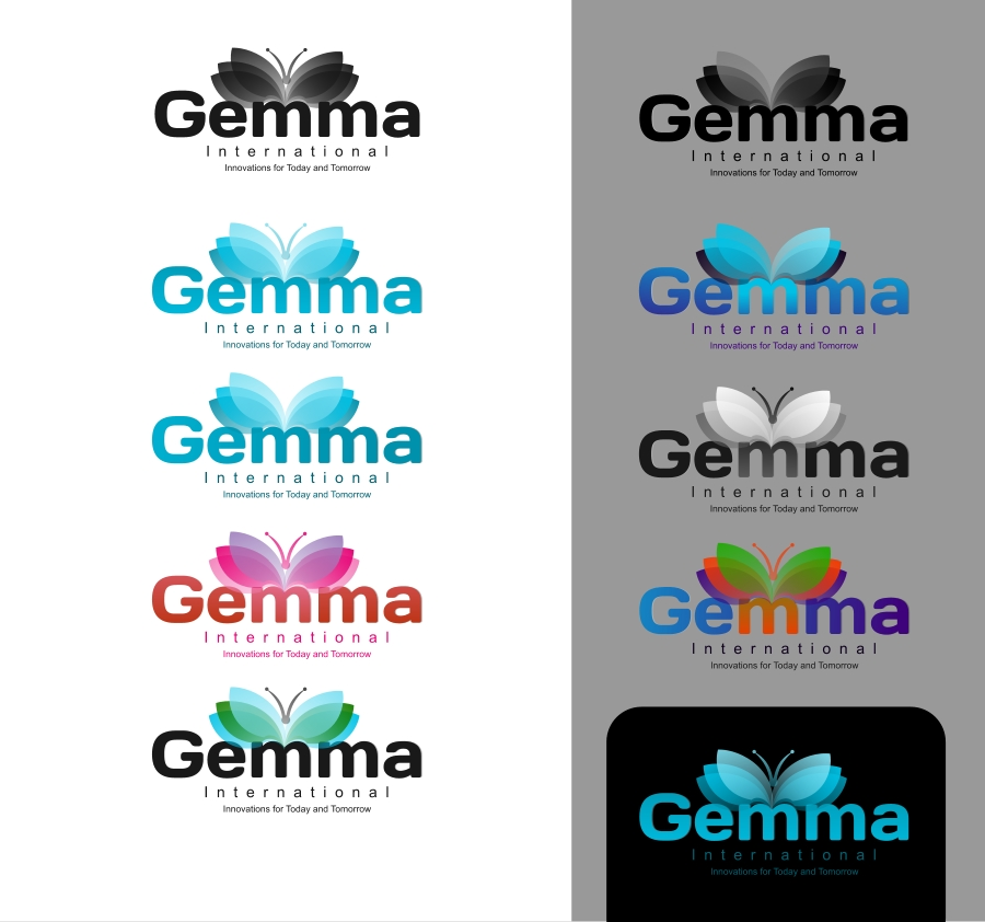 Logo Design by Private User - Entry No. 166 in the Logo Design Contest Artistic Logo Design for Gemma International.