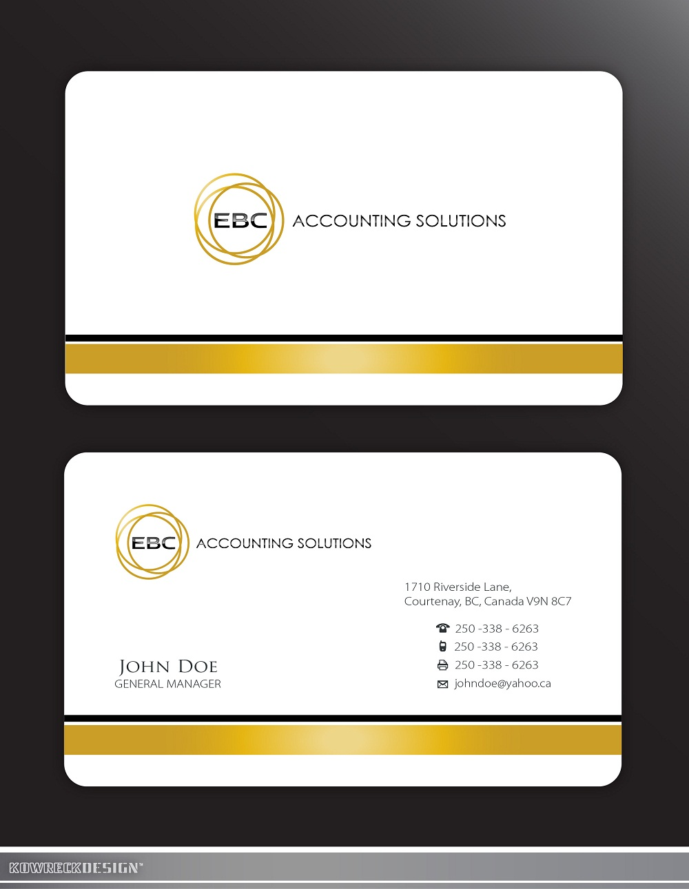 Logo Design by kowreck - Entry No. 206 in the Logo Design Contest New Logo Design for EBC Accounting Solutions.