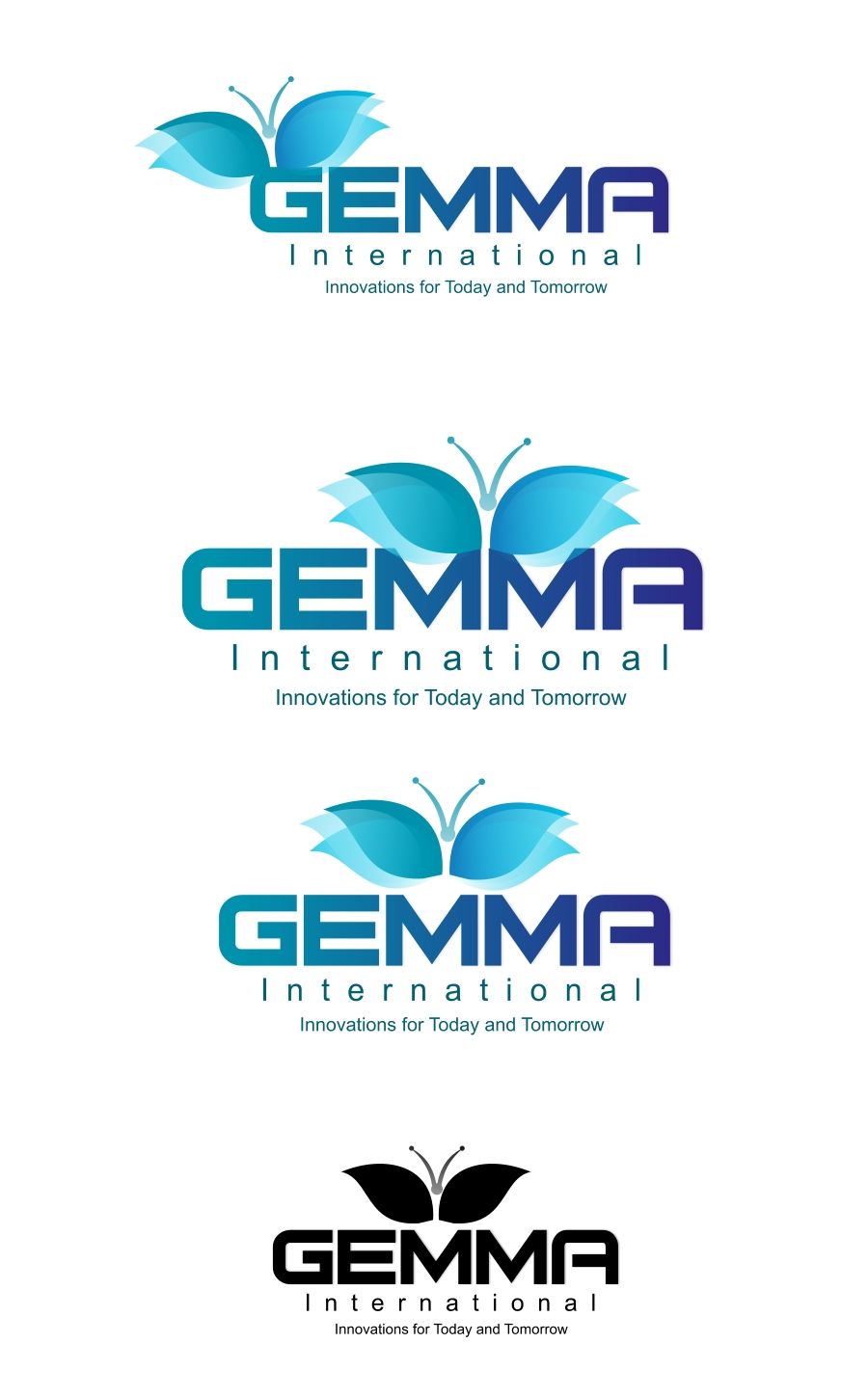 Logo Design by Private User - Entry No. 167 in the Logo Design Contest Artistic Logo Design for Gemma International.