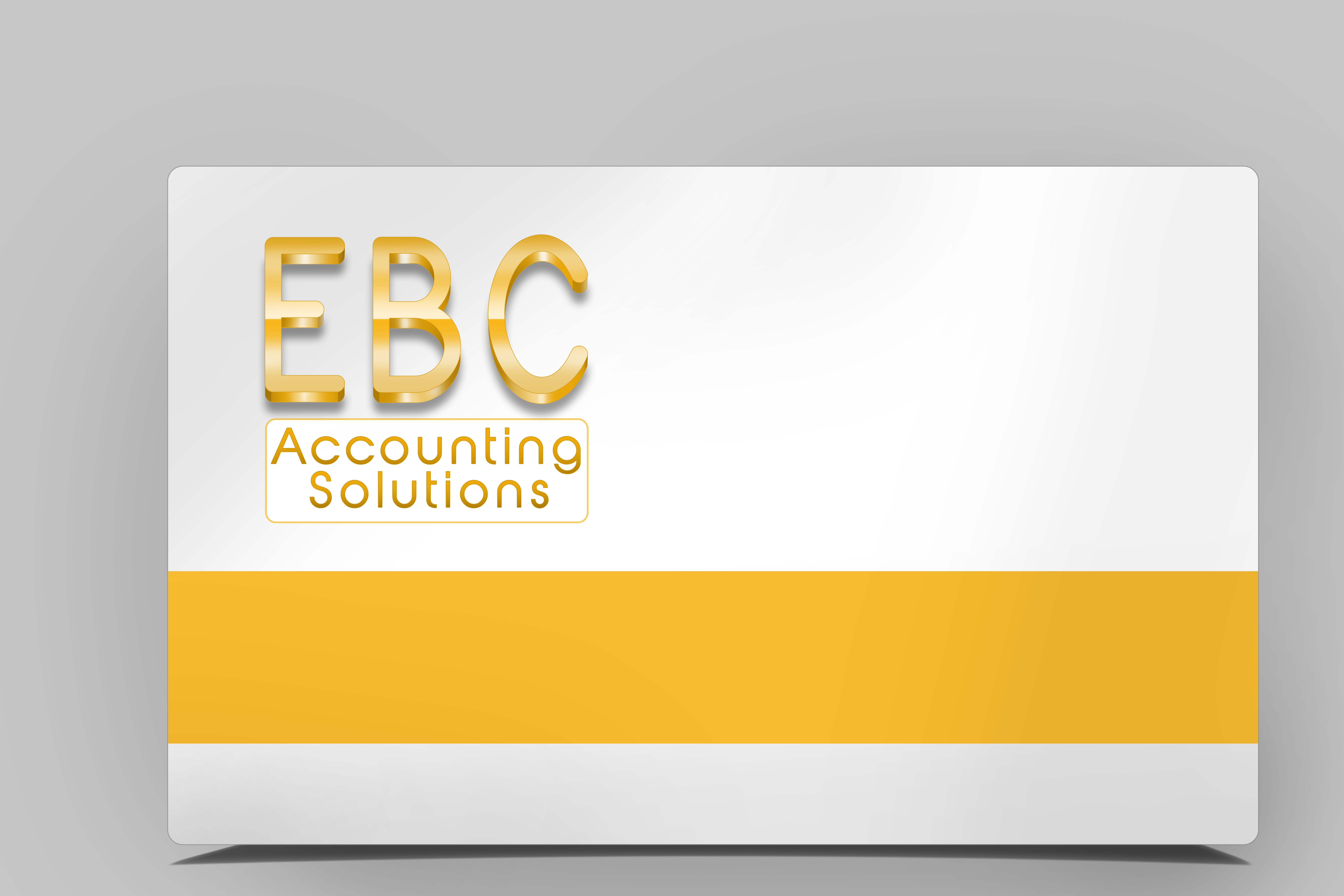 Logo Design by Sandip Kumar - Entry No. 214 in the Logo Design Contest New Logo Design for EBC Accounting Solutions.