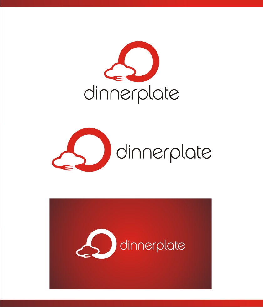 Logo Design by graphicleaf - Entry No. 106 in the Logo Design Contest Imaginative Logo Design for Dinner Plate.