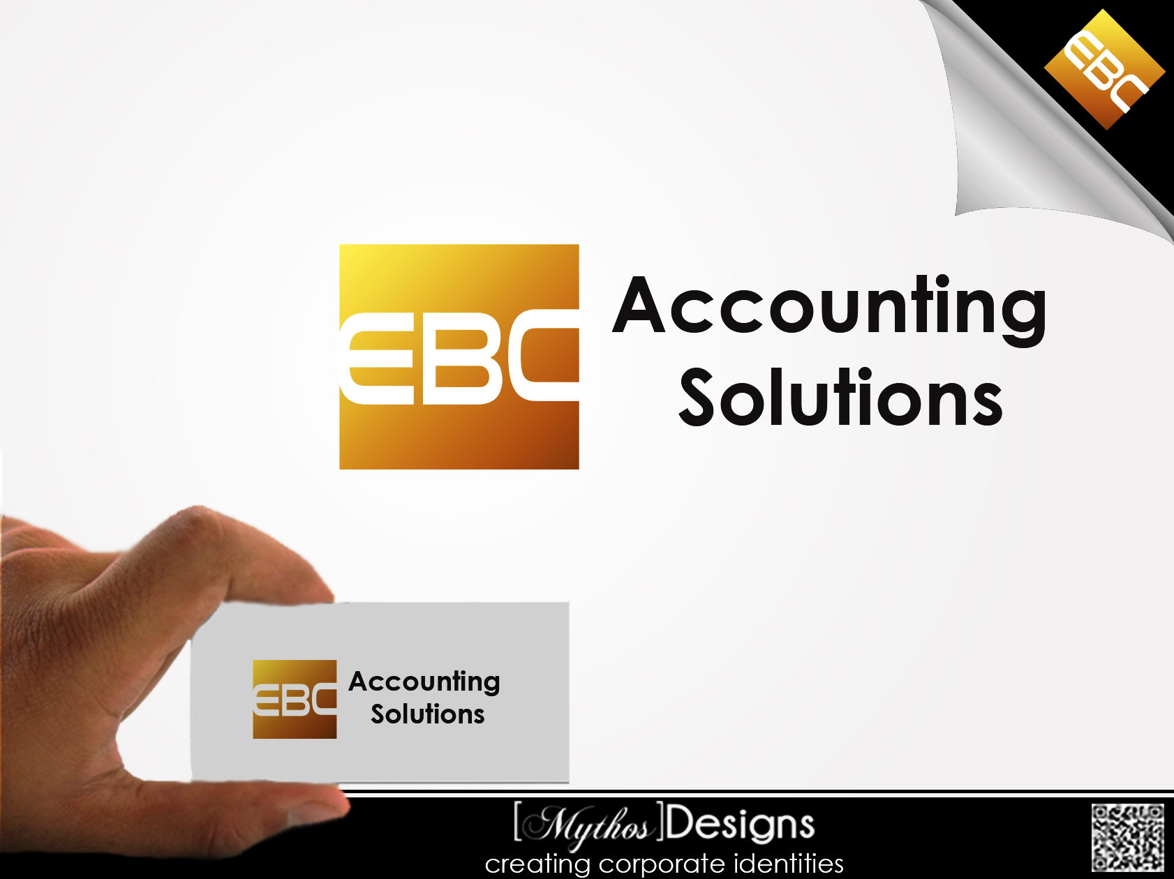 Logo Design by Mythos Designs - Entry No. 217 in the Logo Design Contest New Logo Design for EBC Accounting Solutions.