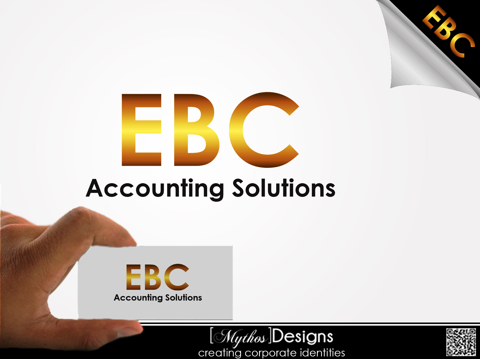 Logo Design by Mythos Designs - Entry No. 220 in the Logo Design Contest New Logo Design for EBC Accounting Solutions.