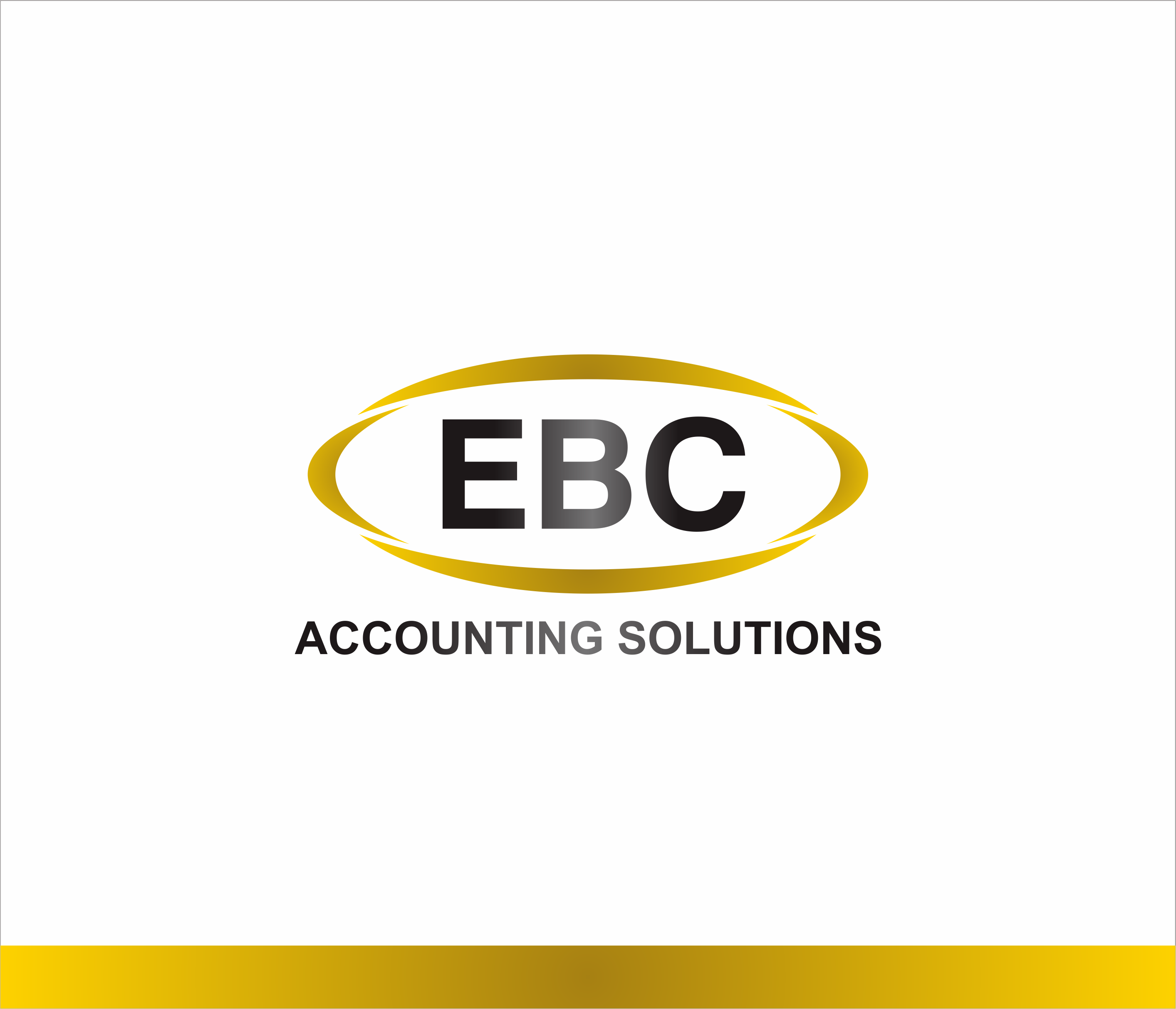 Logo Design by Armada Jamaluddin - Entry No. 221 in the Logo Design Contest New Logo Design for EBC Accounting Solutions.