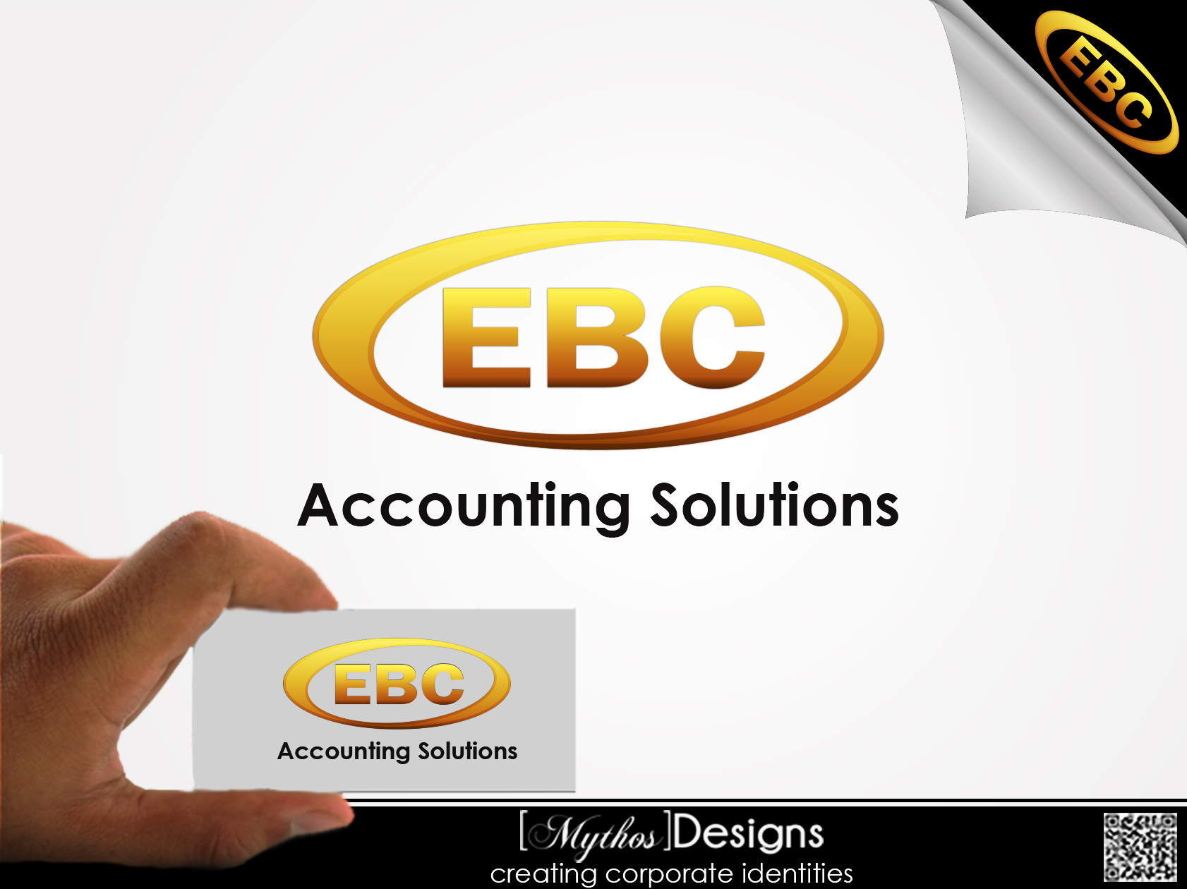 Logo Design by Mythos Designs - Entry No. 228 in the Logo Design Contest New Logo Design for EBC Accounting Solutions.