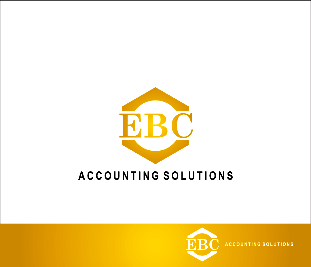 Logo Design by Armada Jamaluddin - Entry No. 231 in the Logo Design Contest New Logo Design for EBC Accounting Solutions.