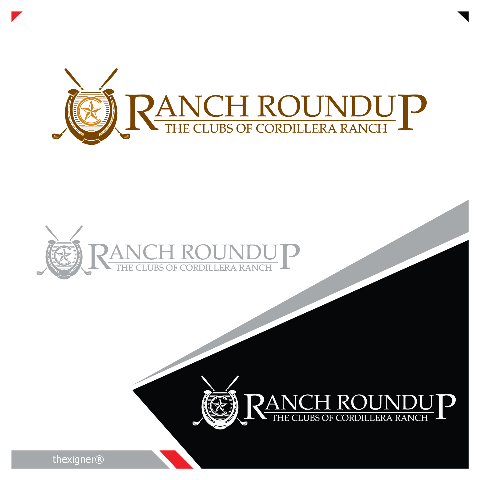 Logo Design by lagalag - Entry No. 23 in the Logo Design Contest Captivating Logo Design for Ranch Roundup.