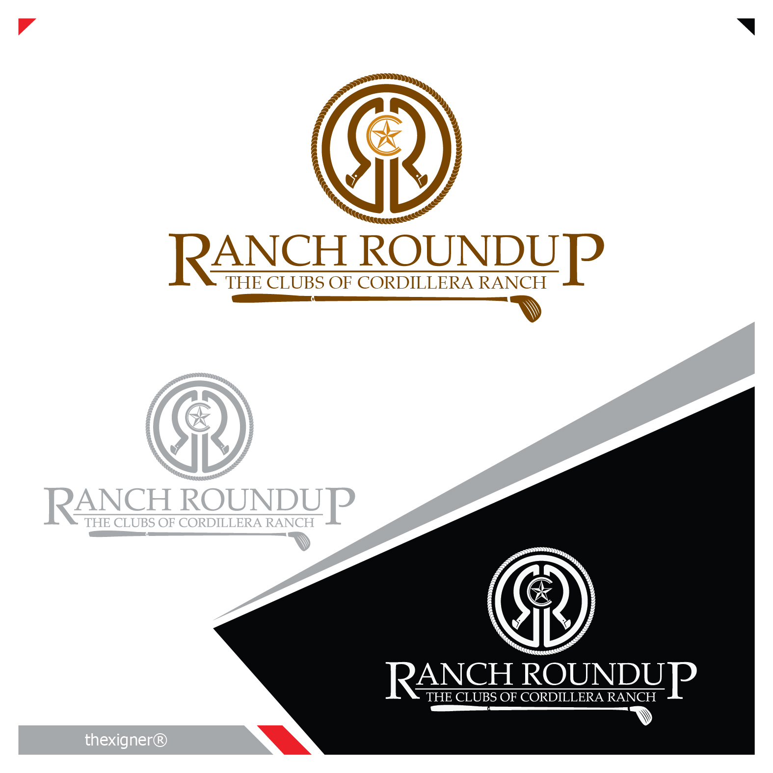 Logo Design by lagalag - Entry No. 24 in the Logo Design Contest Captivating Logo Design for Ranch Roundup.