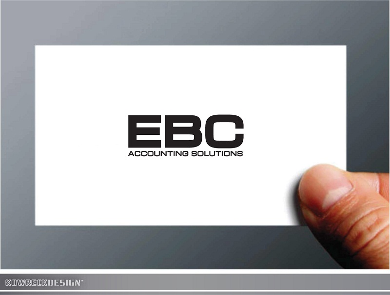 Logo Design by kowreck - Entry No. 241 in the Logo Design Contest New Logo Design for EBC Accounting Solutions.