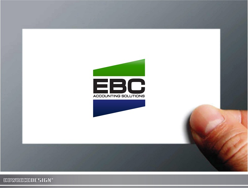 Logo Design by kowreck - Entry No. 242 in the Logo Design Contest New Logo Design for EBC Accounting Solutions.