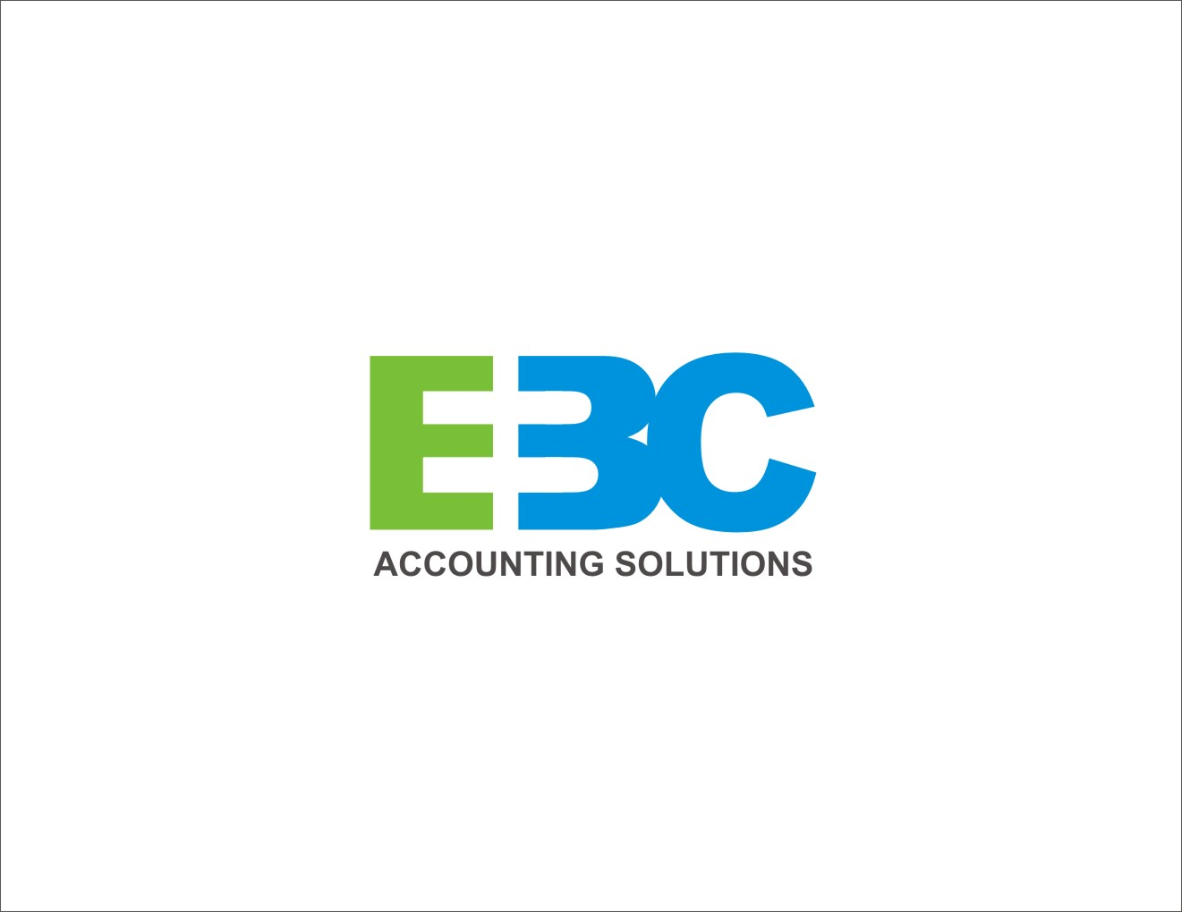 Logo Design by Private User - Entry No. 244 in the Logo Design Contest New Logo Design for EBC Accounting Solutions.