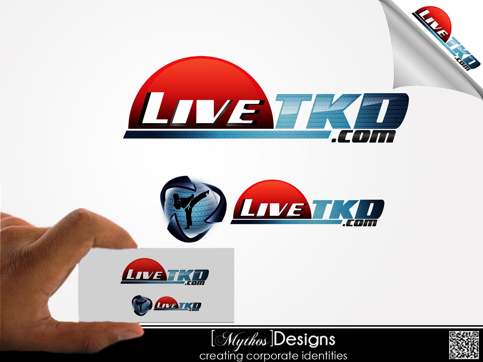 Logo Design by Mythos Designs - Entry No. 150 in the Logo Design Contest New Logo Design for LiveTKD.com.