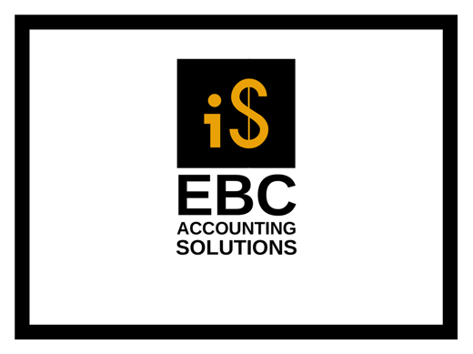 Logo Design by JaroslavProcka - Entry No. 246 in the Logo Design Contest New Logo Design for EBC Accounting Solutions.